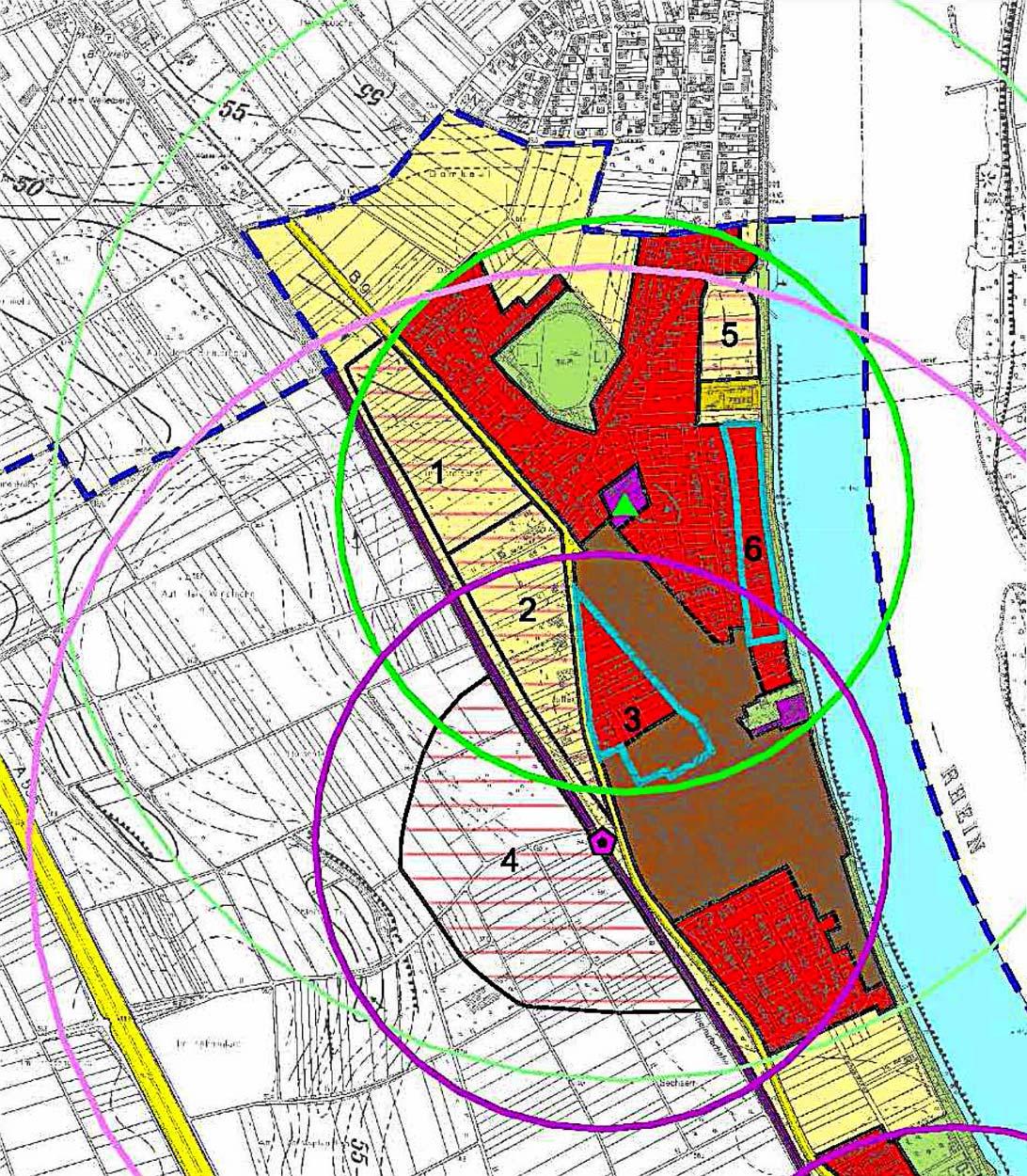 Bornheim Flächennutzungsplanung Planquadrat Dortmund