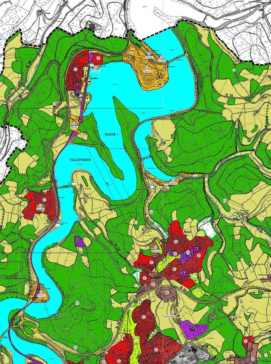 Olpe Flächennutzungsplanung Planquadrat Dortmund