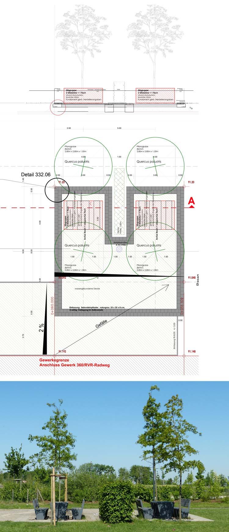 Picknickplatz Freiraumgestaltung Ehemalige Schachtanlage Schlägel & Eisen 3/4/7 Herten - Planquadrat Dortmund
