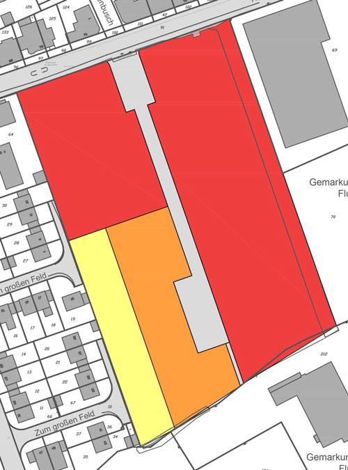 Teaserbild Städtebaulicher Ideenwettbewerb Bebauung am Rosenweg – Stadt Schwerte – Planquadrat Dortmund