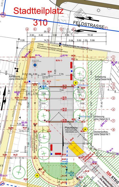 Teaserbild Freiraumgestaltung Ehemalige Schachtanlage Schlägel & Eisen 3/4/7 Herten - Planquadrat Dortmund