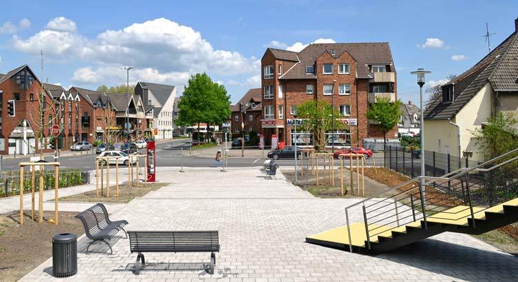 Stadtteilplatz Freiraumgestaltung Ehemalige Schachtanlage Schlägel & Eisen 3/4/7 Herten - Planquadrat Dortmund